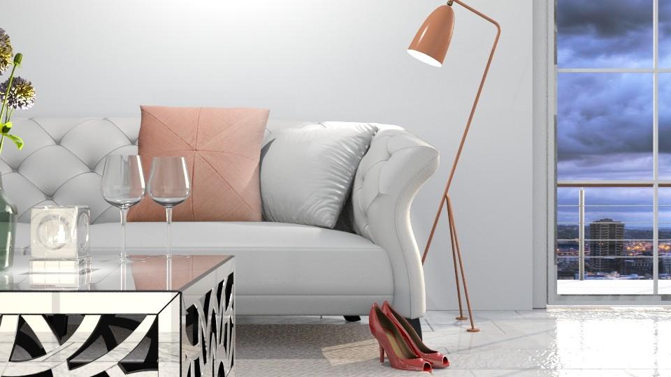 Bright side - Modern - Living room - by Hajnalka978
