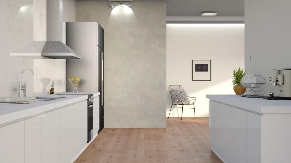 Clean Kitchen - Minimal - Kitchen - by DeborahArmelin