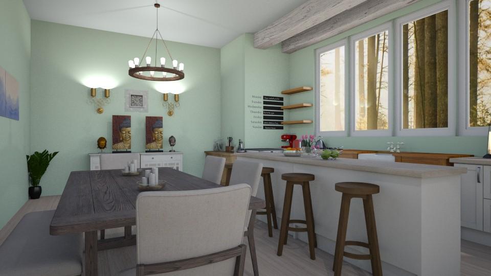 kitchen - by Kylie Awa