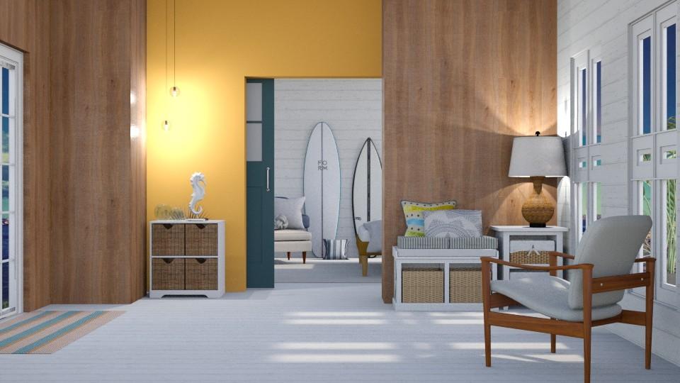 Surfs Up - Modern - Bedroom - by Gurns