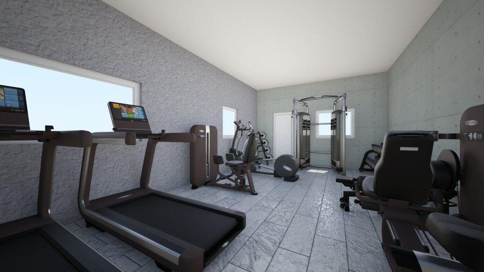 gym - by Domenica Molina