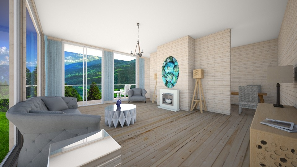 house34 - Living room  - by Love dogs 111