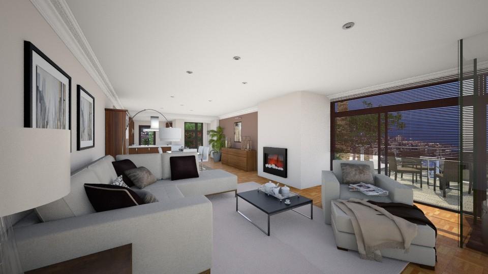Tamaide cambio entrada - Eclectic - Living room - by Abaco