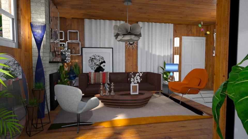 Ralph Fournier for Allen - Living room - by LuzMa HL
