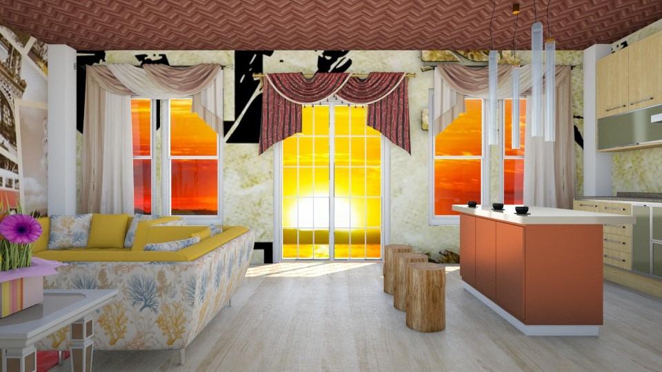 Style - Vintage - Living room  - by fifi sefriyani