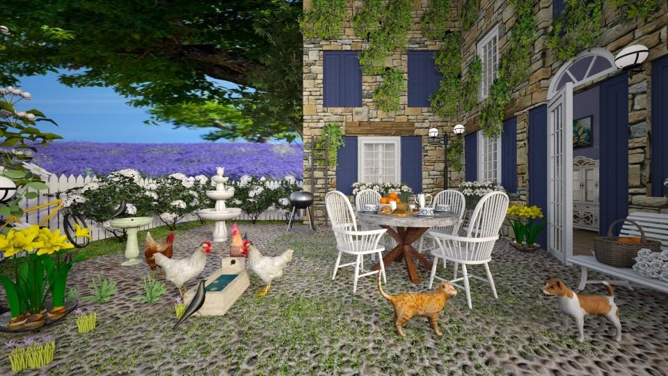 Provence Lavender Farm - by lydiaenderlebell