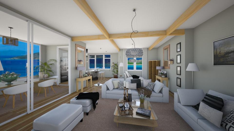 Bach - Living room - by RedVelvet21