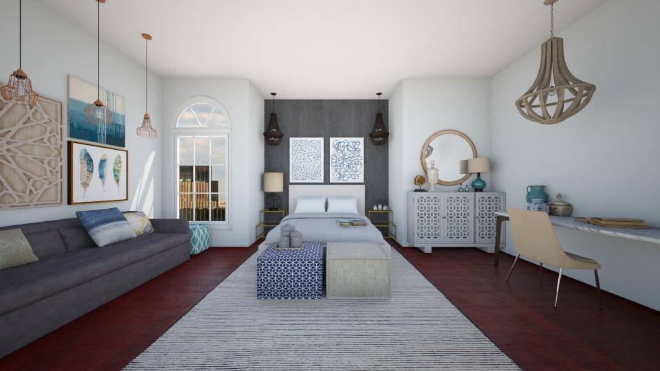 SIMPEL2 - Bedroom - by Hadar David hay