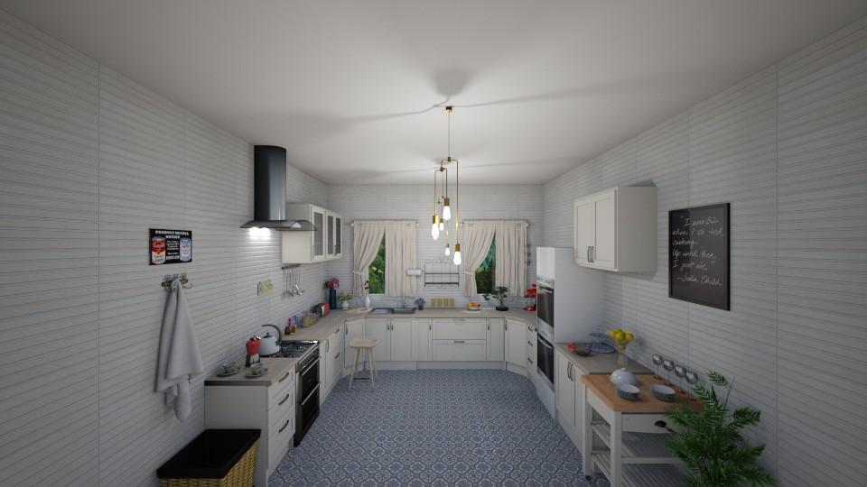 Sweet kitchen - Classic - Kitchen - by Dragana2212