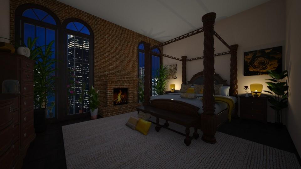 Welcoming Bedroom - Vintage - Bedroom - by Irishrose58