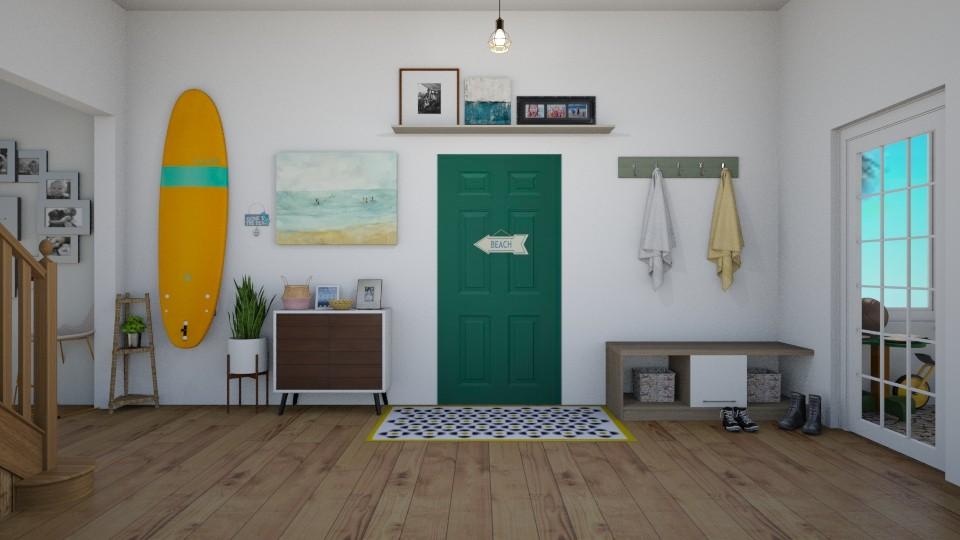 Surf Hallway - by thomanjenna