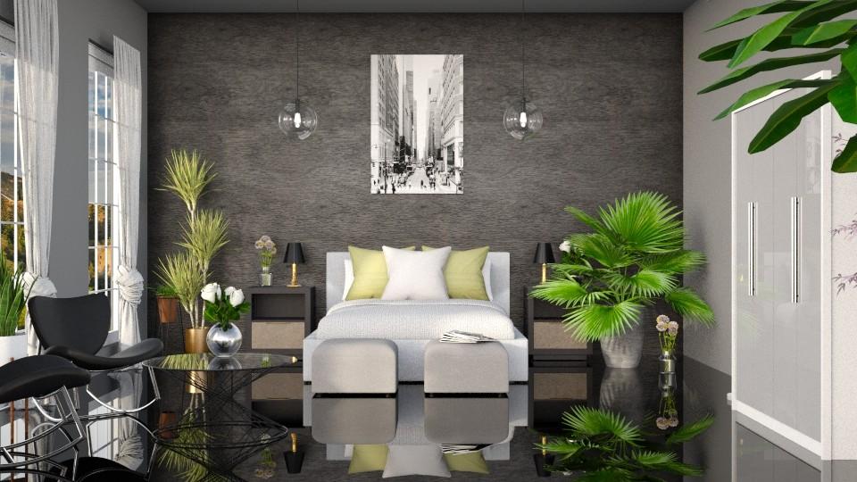 Modern bedroom - Modern - Bedroom - by LunaBradley