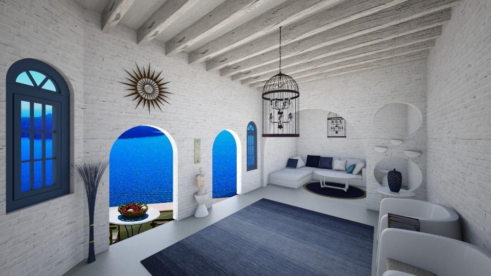 Grecian Formula - Living room - by coffee1129