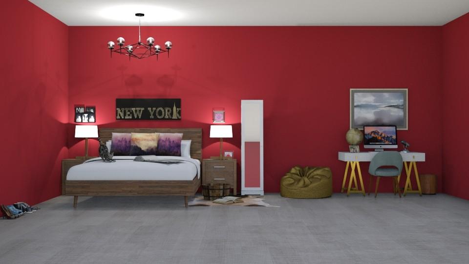 14 year old bedroom - Bedroom - by Ellie665