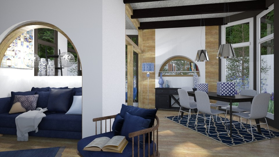 Condo - Modern - Dining room - by XiraFizade