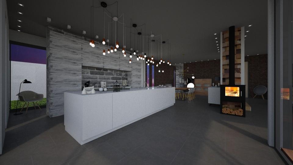 ECO18 REZ Kitchen - by Shuu Dark