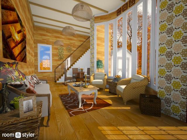 Fall en - Living room - by Pilita Jabers