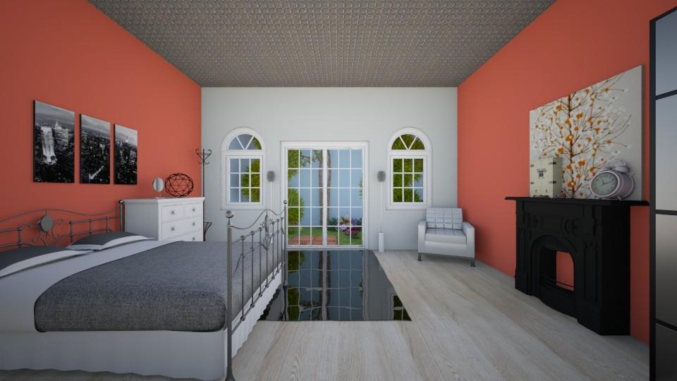 Modern Bed1 - Modern - Bedroom - by kylathemermaid