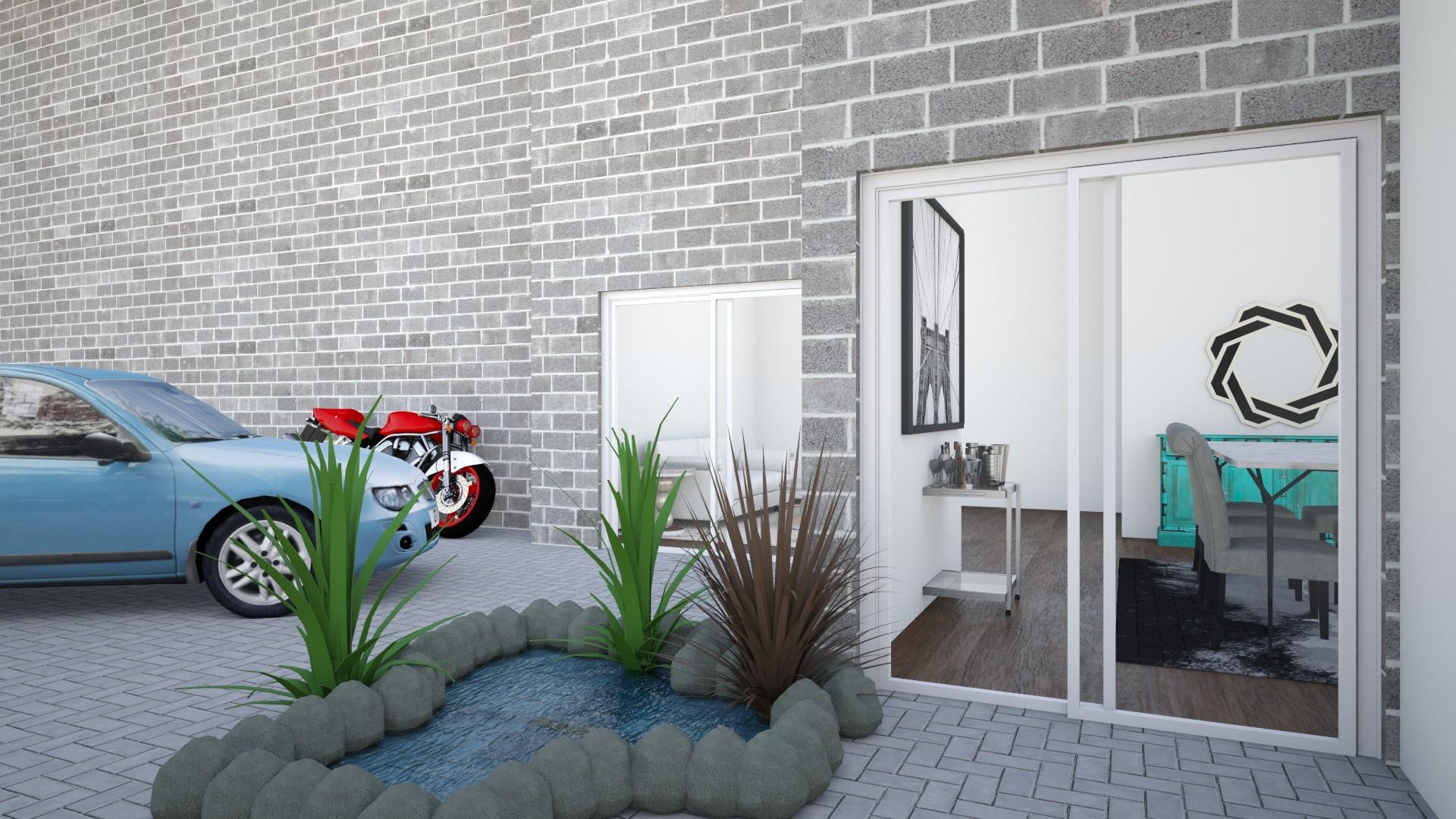 Courtyard - by Khyra