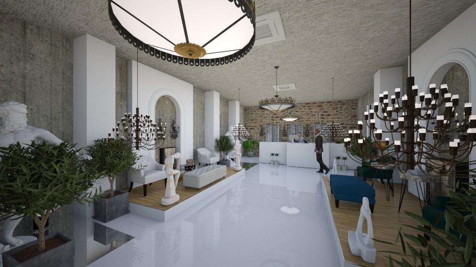 Hotel Reception - Modern - by Nikos Tsokos