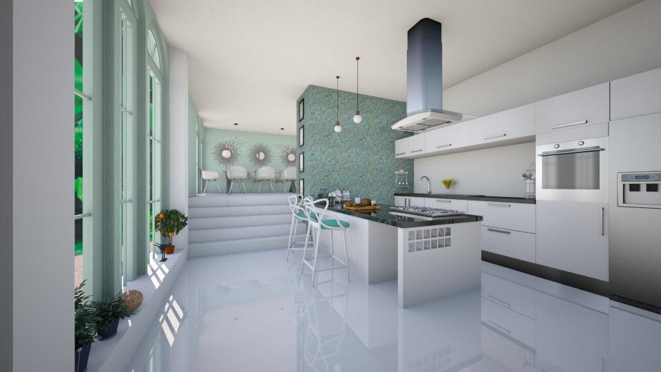openn kitchen - Kitchen - by kanatsizmelek