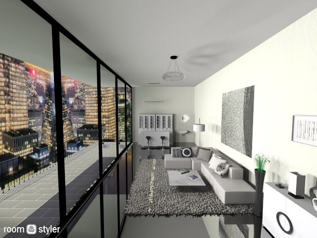Living Room 08 - Modern - Living room - by Thika