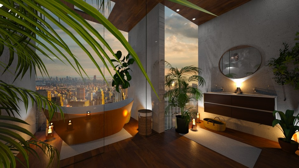 Urban Jungle Bathroom - Bathroom  - by Shadowfax111