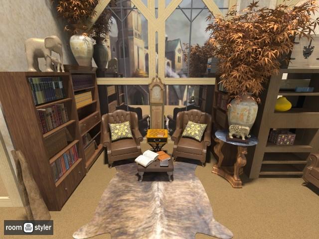 obyvacia izba - Rustic - Living room - by loretasofia