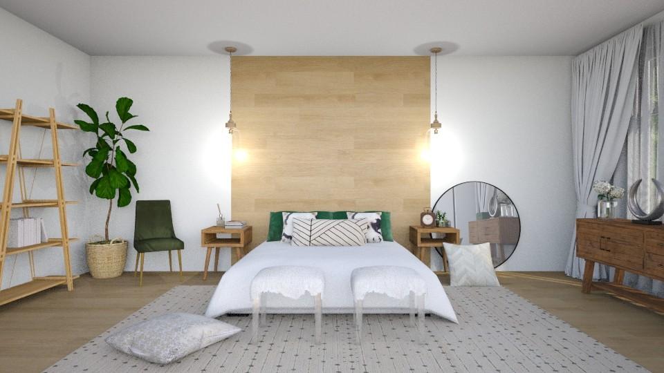 loft boho bedroom - by mollysamuel