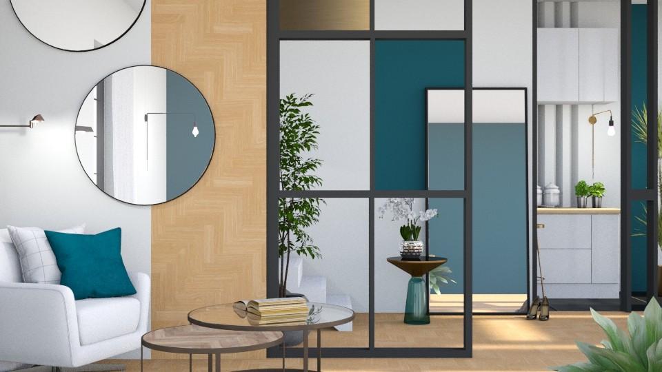 TM Hallway2 - by ArtHousedeco