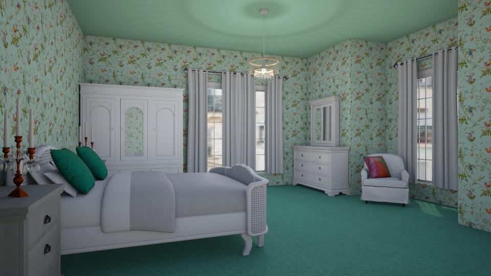 Room 22 - Living room - by Tiffany Y