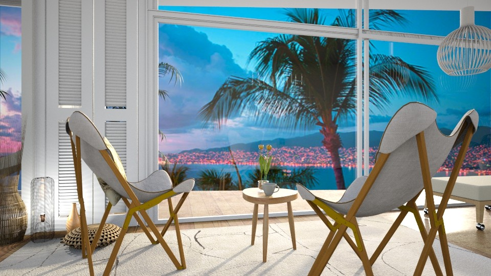 Beach  - Living room - by Kalinowska