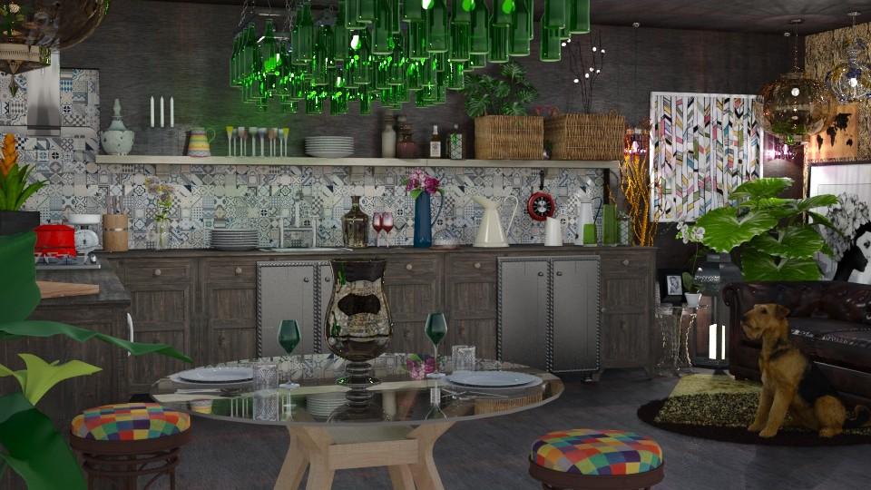 My Boho Kitchen - Eclectic - Kitchen - by LuzMa HL