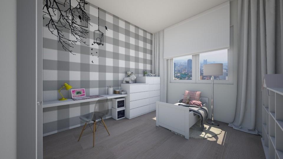 GIRL BEDROOM - Kids room  - by nataliasmok