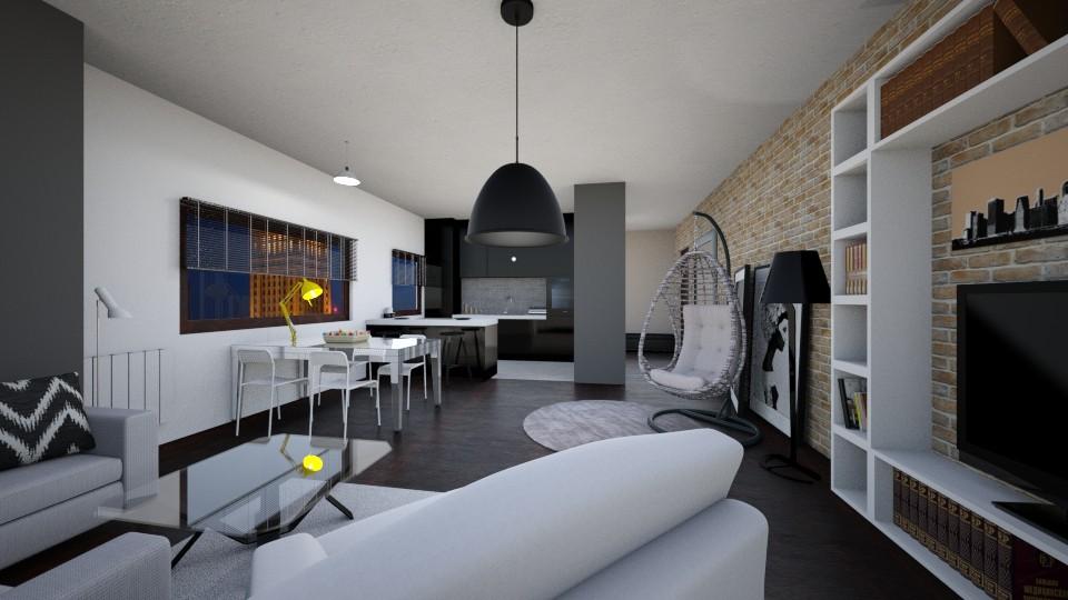 Alan - Modern - Living room  - by agnieszka_giez