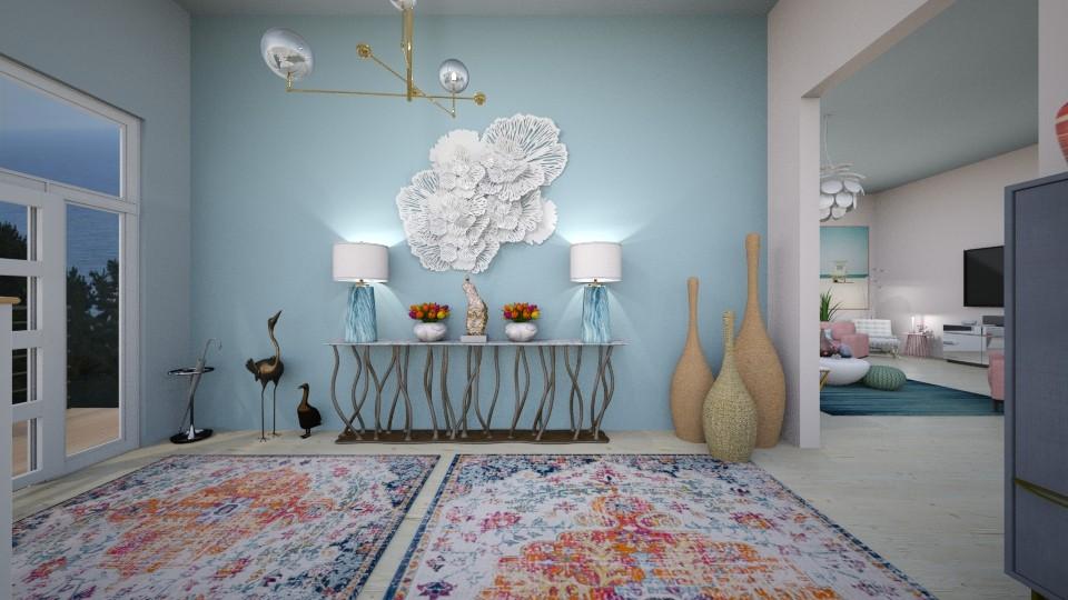 Foyer in Pastels 2 - by erstudio