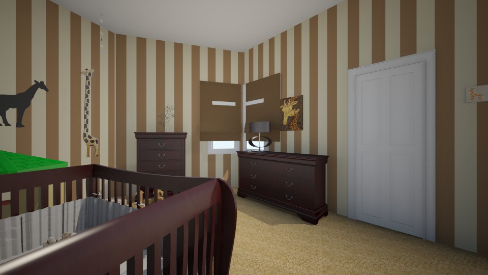 brown baby - Kids room - by hillygabe