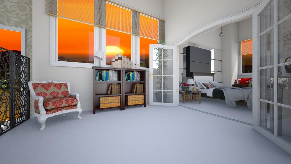 Noite - Living room - by Larryssa10