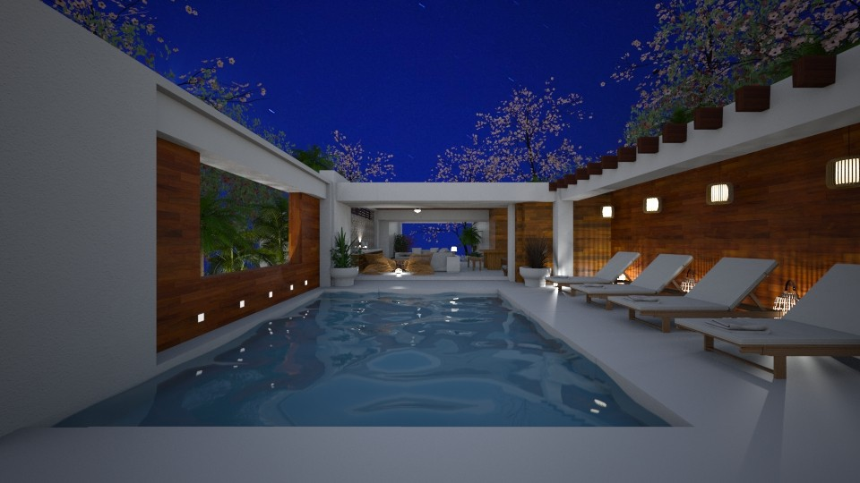 tropical - Living room - by svetlysveva