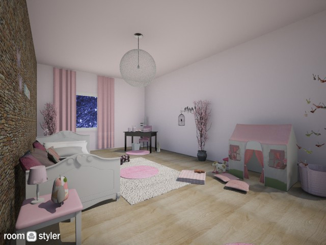 France Girls Bedroom - Kids room - by Alyce Design concept