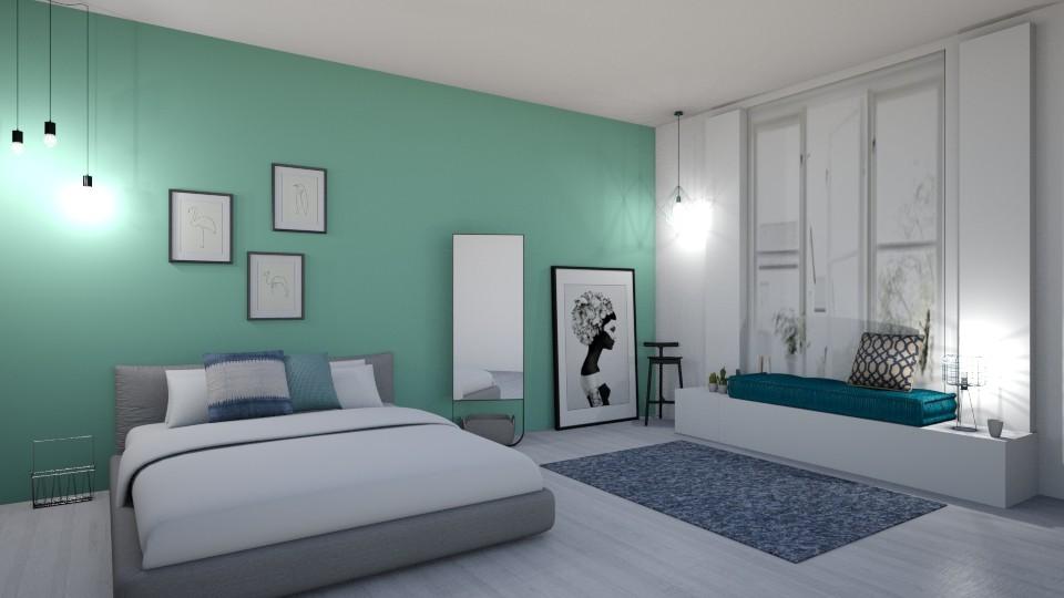 Blue and green spectrum - by Basilikum