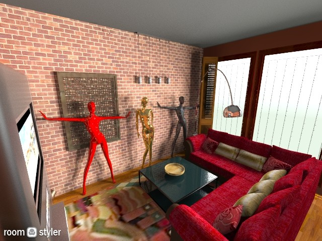art deco - Living room  - by yvonster