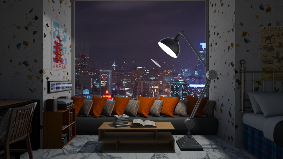 Night - Bedroom - by thigpen