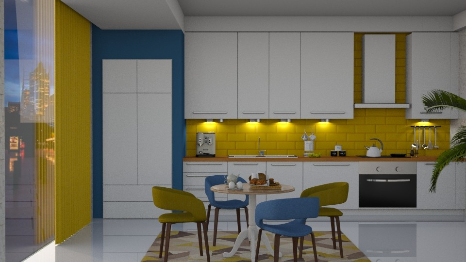 S_Colorful Kitchen II - Kitchen - by Shajia