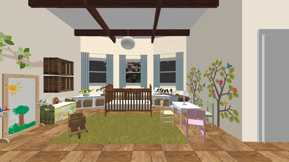 3 - Kids room - by Victoria M Lima