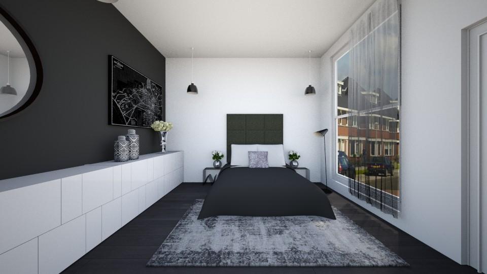black white - by annejadetjenl
