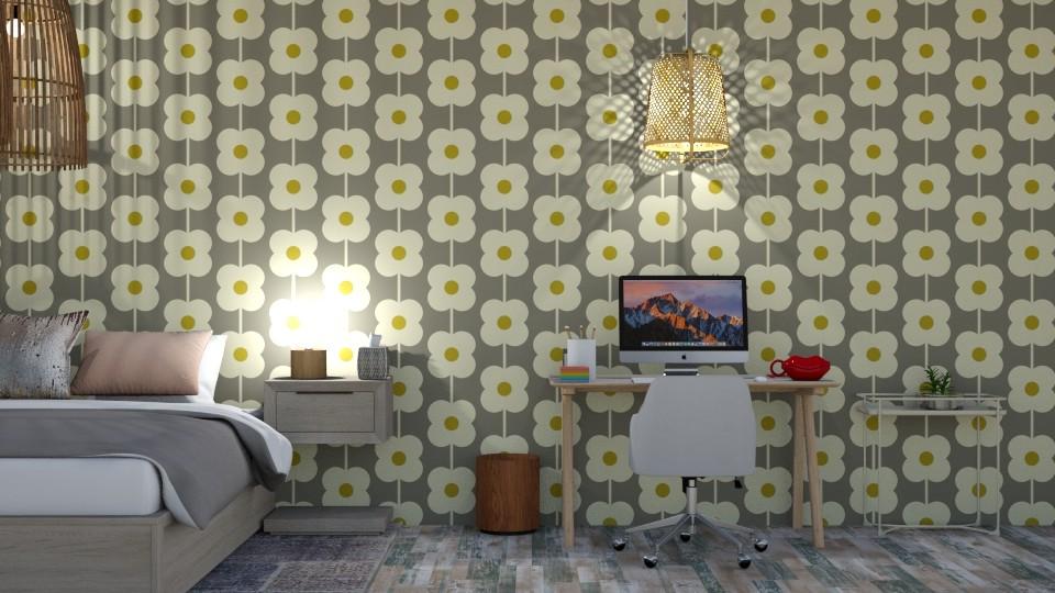 Neutral bedroom  - Bedroom - by Ellie665
