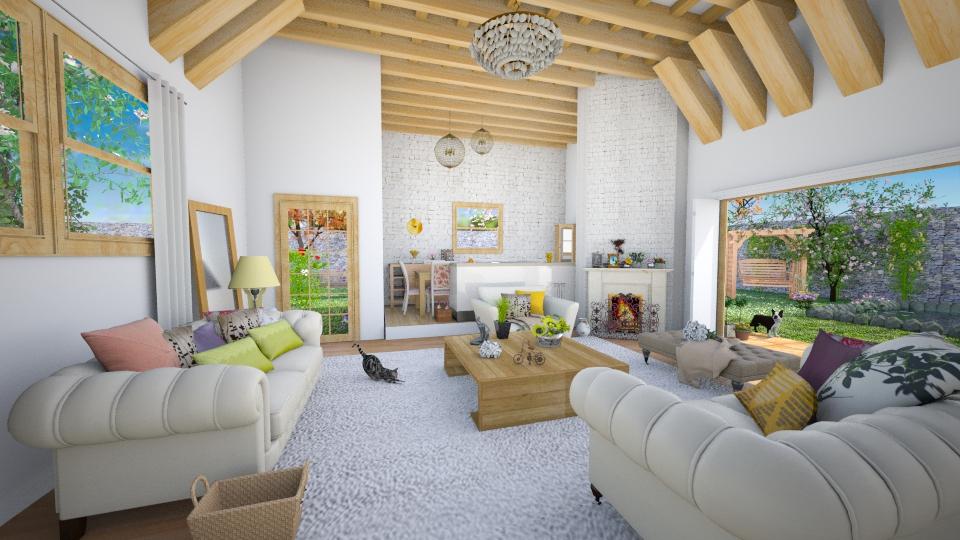 sala - Living room - by Larryssa10