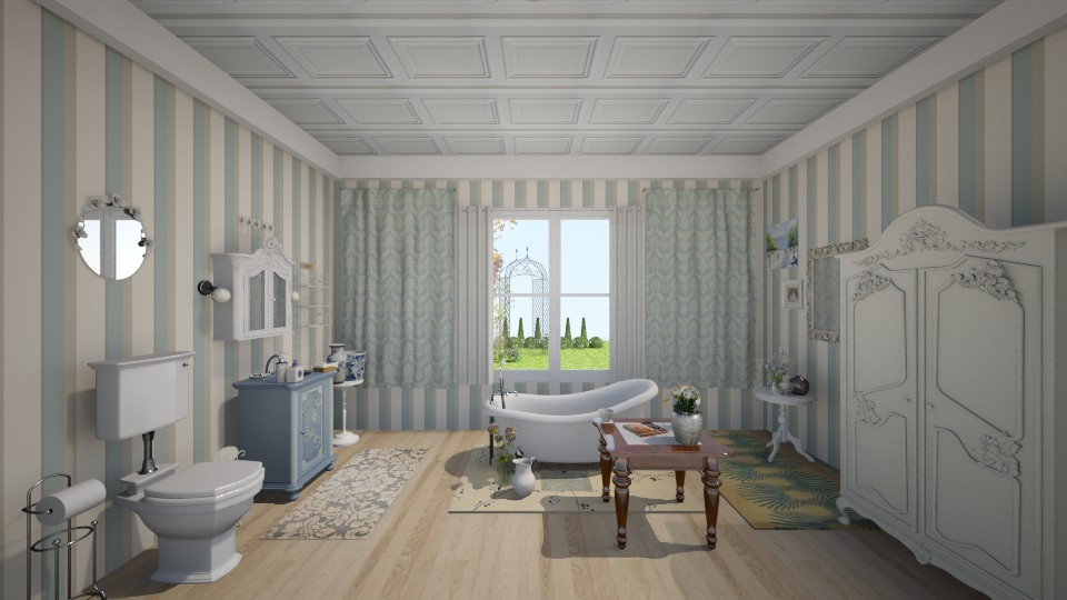 Victorian Bathroom - by pugsy800