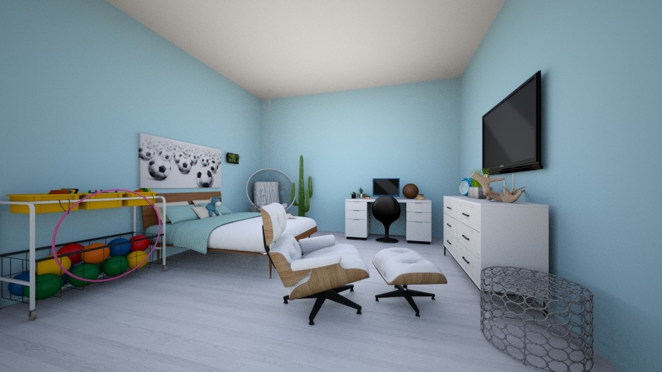 Lacey Room - Bedroom  - by SisterMoo